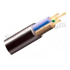 Manguera cable flexible 3x2,5 RVK 1Kv negra