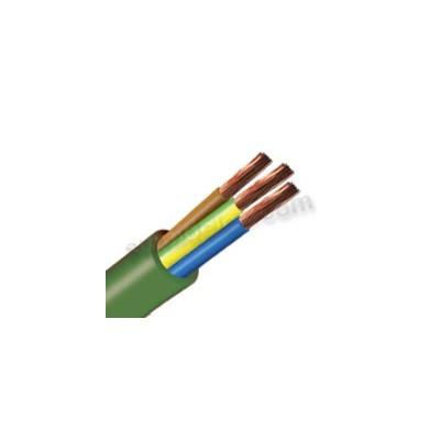 Manguera libre halógenos cable 3x4...