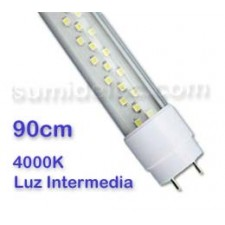 Tubo led 90cm luz intermedia T8