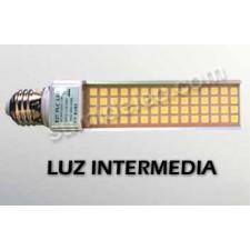 Bombilla LED 11W PL E27 luz intermedia 980lm 4500K