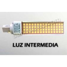 Bombilla LED G24 PL 2 pines 11W 980lm luz intermedia