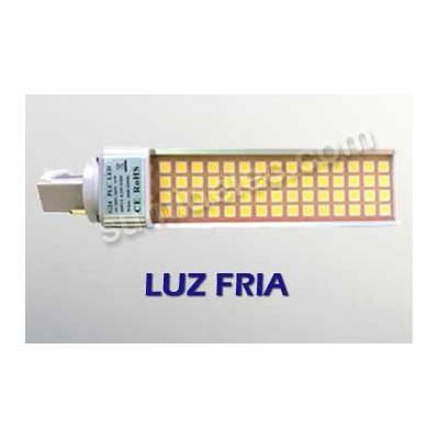 Bombilla led g24 pl 2 pin 11w luz fria 1000 lumenes precio for Bombilla led g24 2 pin