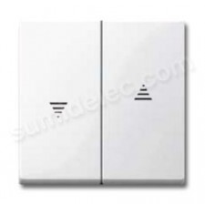Tecla interruptor persianas blanco MTN432419 Elegance
