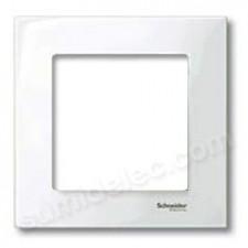 Marco 1 elemento blanco Elegance schneider MTN402119
