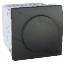 Interruptor U3.511.12 conmutador regulador giratorio grafito