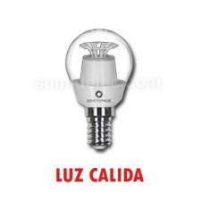 Bombilla esférica Samsung de LED E14 luz cálida