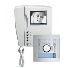 Kit vídeoportero Sfera New Tegui monitor blanco y negro Swing