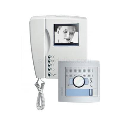 Kit videoportero sfera new tegui 376121 monitor blanco y for Videoportero tegui precio