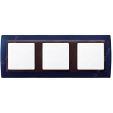 Marco azul metalizado 3 ventanas 82834-64 Simon grafito
