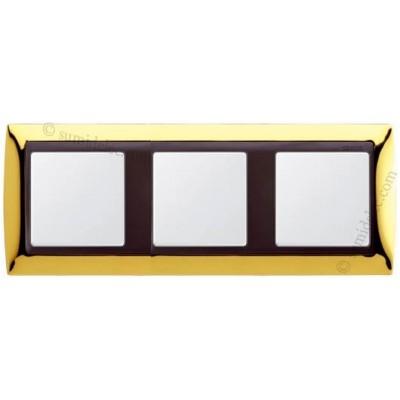 Marco oro 3 elementos serie 82834-66...