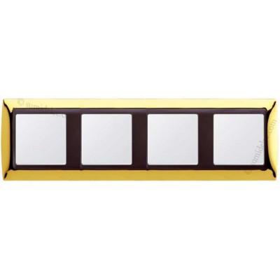 Marco oro 4 elementos serie Simon...