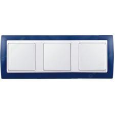 Marco azul marino 3 elementos simon 82632-64
