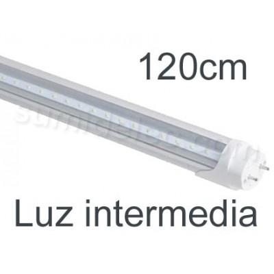 Tubo LED 120cm 20W color luz...