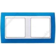 Marco azul translúcido 2 elementos 82623-64 Simon