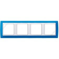 Marco azul translúcido 4 ventanas 82643-64 Simon