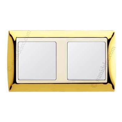 Marco Oro marfil 2 elementos 82724-66