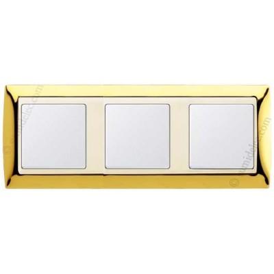 Marco Oro marfil 3 elementos 82734-66