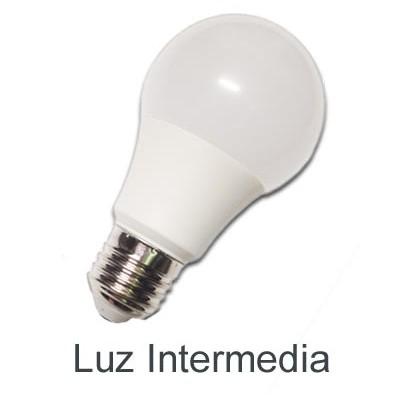 Bombilla LED standard E27 10W luz natural