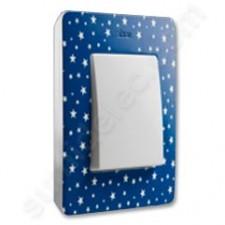 Marco estrellas azul índigo 1 elemento Original Simon Detail 82