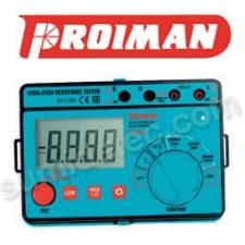 Medidor aislamiento resistencia CA 1000V Proiman 465201