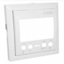 Tapa cronotermostato digital Efapel Logus 90 blanco