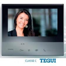 Monitor Tegui Manos Libres Classe 300 color oscuro bticino