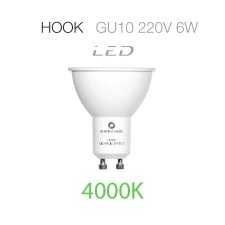 Bombilla LED Hook dicróica 6W 4000K