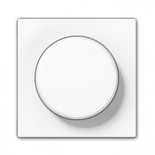 Tapa regulador giratorio A 1540 WW dimmer a 500 jung