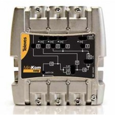 Central amplificadora compacta Televés MiniKom 562301