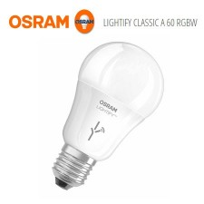 Bombilla Osram Lightify Classic A 60 RGBW