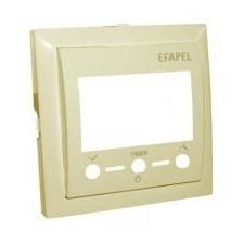 Tapa marfil termostato digital Efapel con IR Logus 90 90742tmf