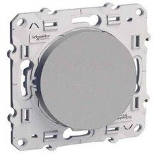 Cruzamiento S530205 10ax serie odace schneider plata