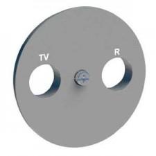 Tapa toma tv-sat S530441 serie Odace Schneider plata