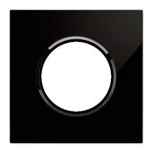 Marco 1 elemento Cristal Negro 8671cn Niessen SkyMoon