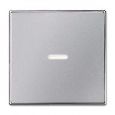Tecla interruptor con visor 8501.3 pl plata niessen sky
