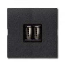 Toma cargador Usb n2285 an antracita Zenit Hit by Niessen
