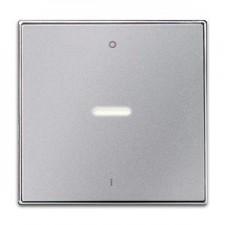 Tecla interruptor bipolar con visor 8501.4 pl plata niessen sky