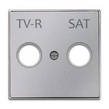 Tapa toma televisión 8550.1 pl plata niessen sky