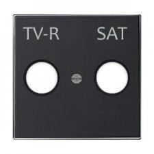 Tapa toma televisión 8550.1 ns negro soft niessen sky