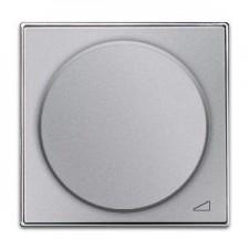 Tapa regulador electronico giratorio 8560.2 pl plata niessen sky