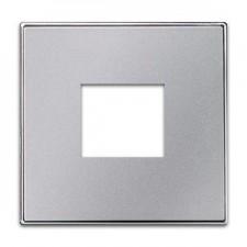 Tapa toma cargador USB 8585 pl plata sky niessen