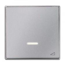 Tecla regulador electronico pulsación 8560.1 pl plata niessen sky