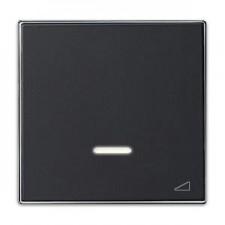 Tecla regulador electronico pulsación 8560.1 ns negro soft niessen sky