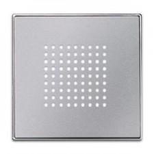 Tapa timbre zumbador 8529 pl plata niessen sky