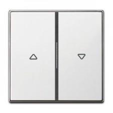 Tecla doble interruptor pulsador persianas 8544 bl blanco soft niessen sky