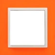 Marco simple mecanismos Efapel 90910t jg Logus 90 animato naranja