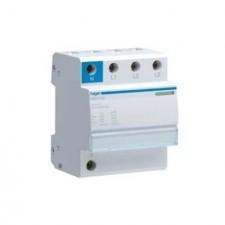 Limitador sobretensiones transitorias monoblock 3P+N, 15kA, 440/275V SPM415D Hager
