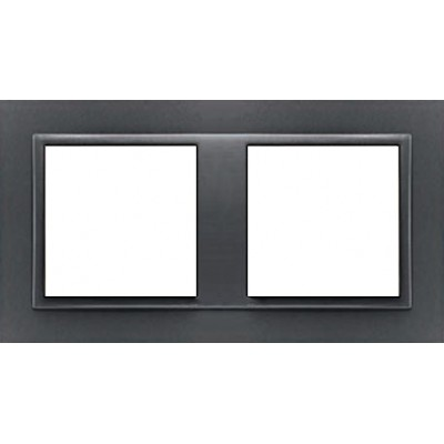 Marco doble mecanismos Efapel 90920t ss Logus 90 animato gris precio