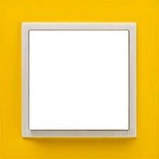 Marco simple mecanismos Efapel 90910t rg Logus 90 animato amarillo