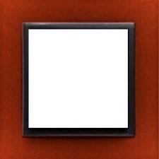 Marco simple Efapel 90910t ts animato anaranjado intenso gris